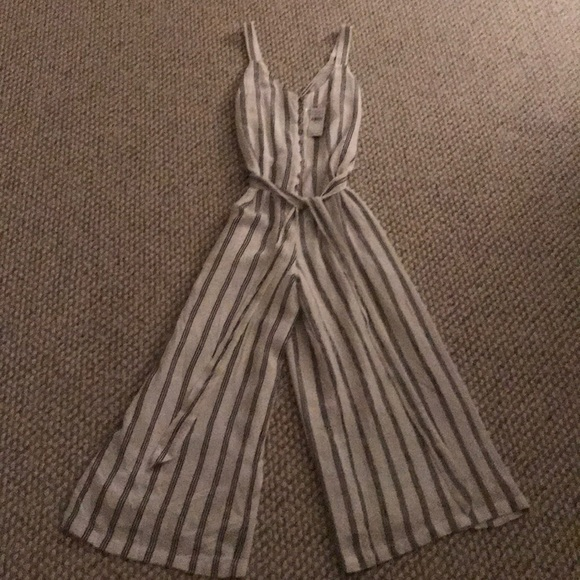 b5c3628e717a American Eagle Outfitters Other - American Eagle Striped Culotte Jumpsuit